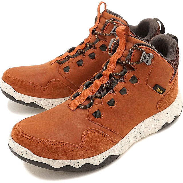 fb6777fcc Teva men arrow Wood Lux mid waterproof Teva waterproofing specifications  sneakers shoes MENS Arrowood Lux Mid WP COGNAC (1013643-COG FW16)