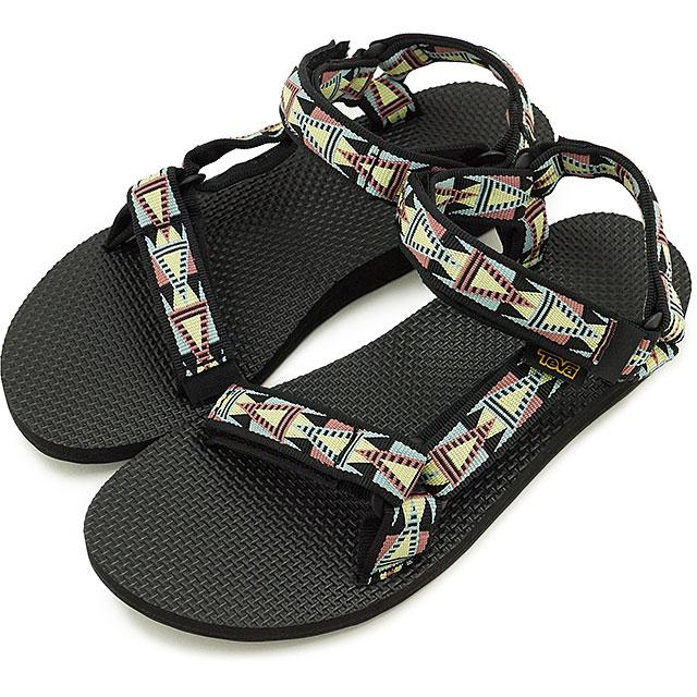 fee69b15b3b72 Teva Lady s original universal Teva sandal WMNS Original Universal MOSAIC  BLACK MULTI (1003987-MBMT FW16)