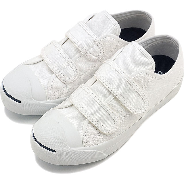 Converse kids Jack Purcell Velcro CONVERSE sneakers KIDS JACK PURCELL V-2  white (32711850 FW16) 749151db88be