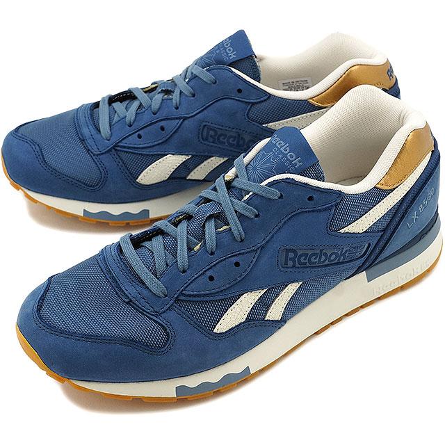 f570a5670625a Reebok classical music men gap Dis sneakers LX8500 metallic Reebok CLASSIC LX8500  MET BLUE (V67560)