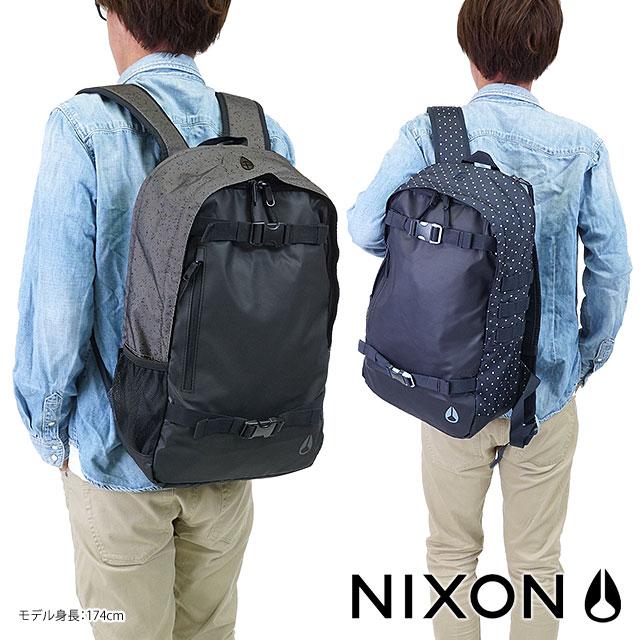 尼克森尼克森史密斯 SKATEPACK II 史密斯冰鞋包 2 背包背囊背包) NC1954000-00 SS13) 黑色 fs3gm