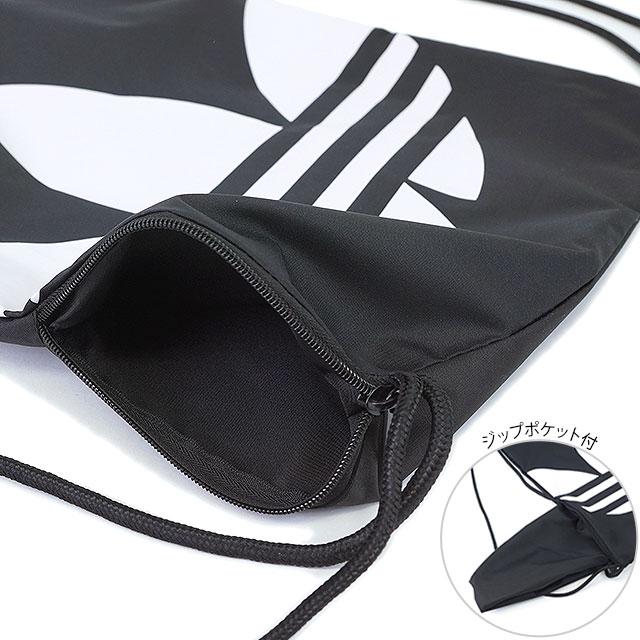 Adidas originals Jim k trefoil adidas Originals GYMSACK TREFOIL knapsack  shoe bag mens Womens AJ8986 AJ8987 AJ8988 AJ8989 AJ8990 02c581e58c9