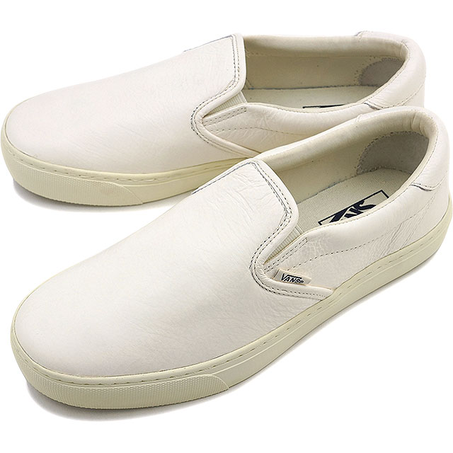 c999289578 Vans slip-on 59 cup VANS men gap Dis sneakers slip-ons CLASSIC+ SLIP-ON 59  CUP (LEATHER) WHISPER WHITE (VN0A2Z62GS7 FW16)