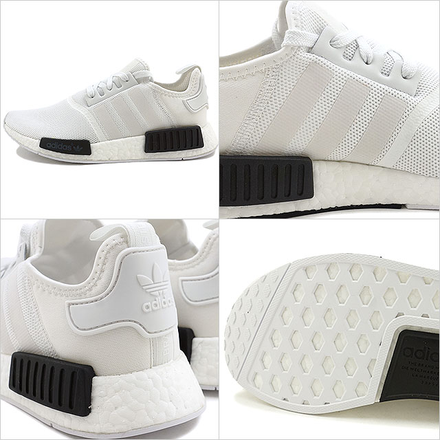 8f168ae9024a6 adidas Originals Adidas originals NMD R1 NMD R1 R white  R white   core  black nomad nmd shoes (BB1968 FW16)
