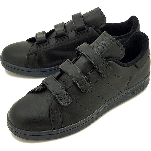 premium selection 968c6 1e507 Adidas originals Stan Smith comfort Velcro adidas Originals STAN SMITH CF  men's women's core black (S80044 FW16)