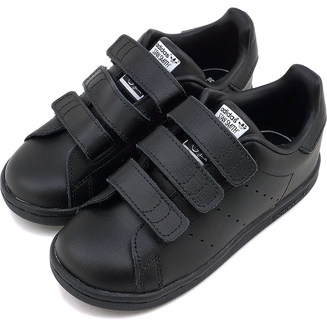 adidas stan smith kids black