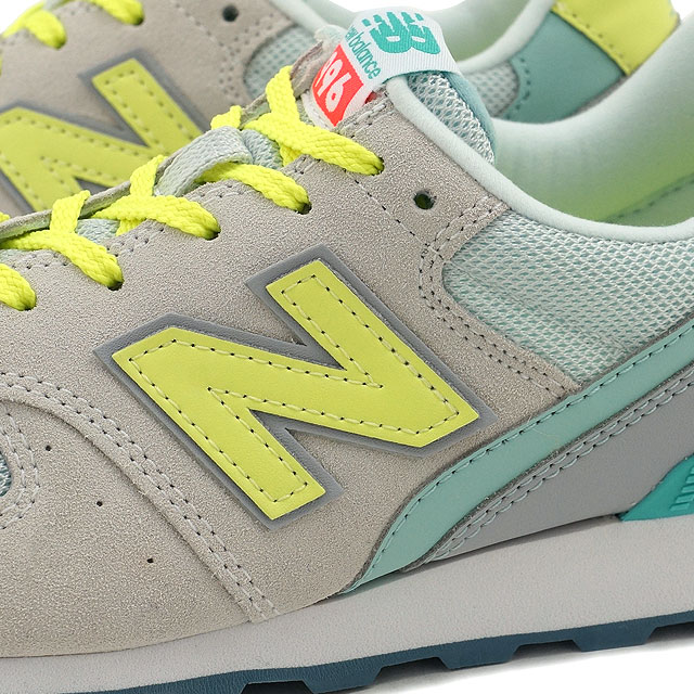 New balance newbalance WR996 Womens sneakers GRAY/YELLOW (WR996JE FW16)