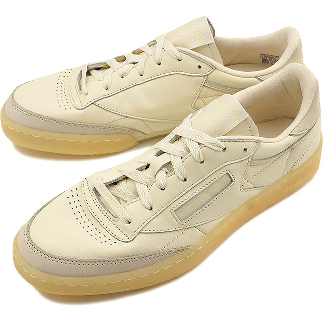 eada06fa1bdda1 Reebok classical music club C 85 butter software Reebok CLASSIC men gap Dis  sneakers CLUB C 85 BS OLYMPIC CREME WASHED YELLOW (AR1423 FW16)