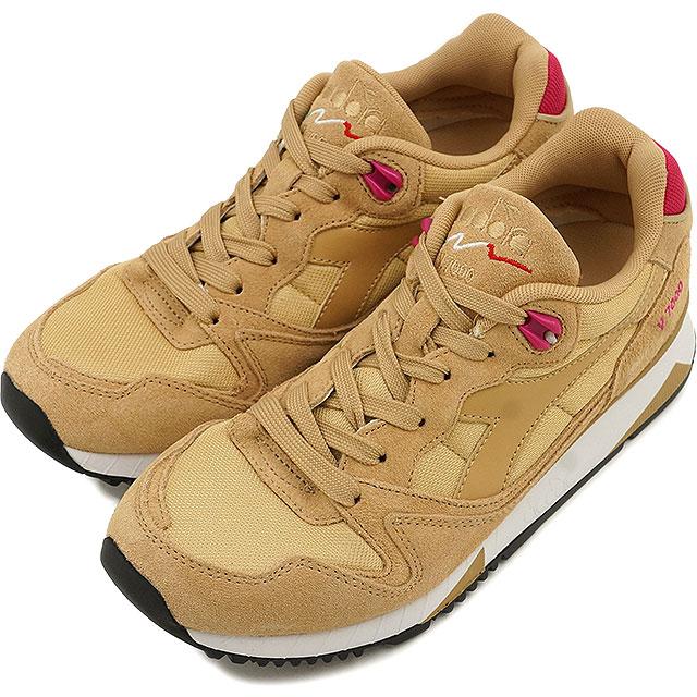 迪尔德丽服装 DIADORA 男式女式运动鞋 V7000 NAL 二砂/亮玫瑰 (170939 6280 FW16Q3)
