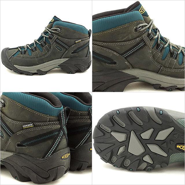基恩 Tagi 到中旬防水徒步鞋热衷于男性塔基 II 中期 WP 白鲸/甲虫 (1014990 FW16)