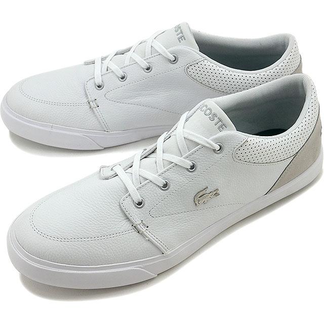 Lacoste Baylis 316 1 LACOSTE men sneakers BAYLISS 316 1 WHT WHT (MZK090-21G  FW16Q3) 5877058d81