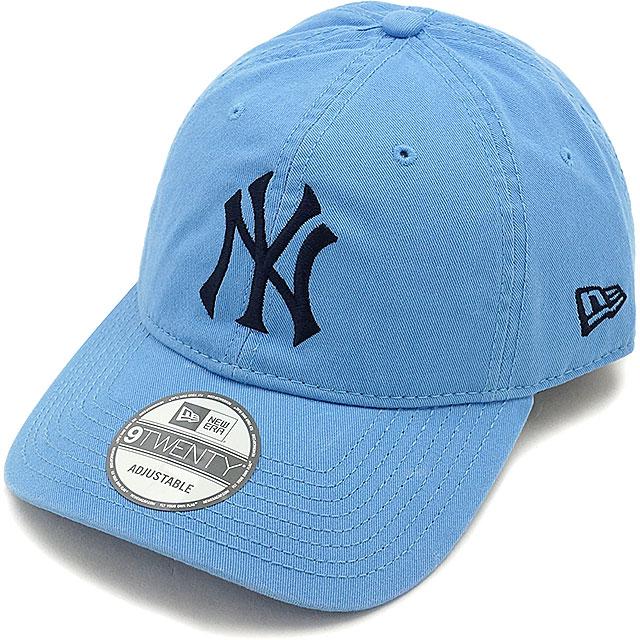 46e9e8190bd New era New York-Yankees washed cotton cap NEWERA hats 9 TWENTY NYY WASHED  COTTON CAP sky blue   Midnight Navy (11322587 FW16)