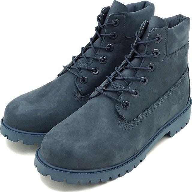 8f38dfef8c11 Timberland Timberland boots Lady s-adaptive youth standard 6 inch Premium  Waterproof Boot 6 inches premium waterproof boots Navy Nubuck (A171S FW16)