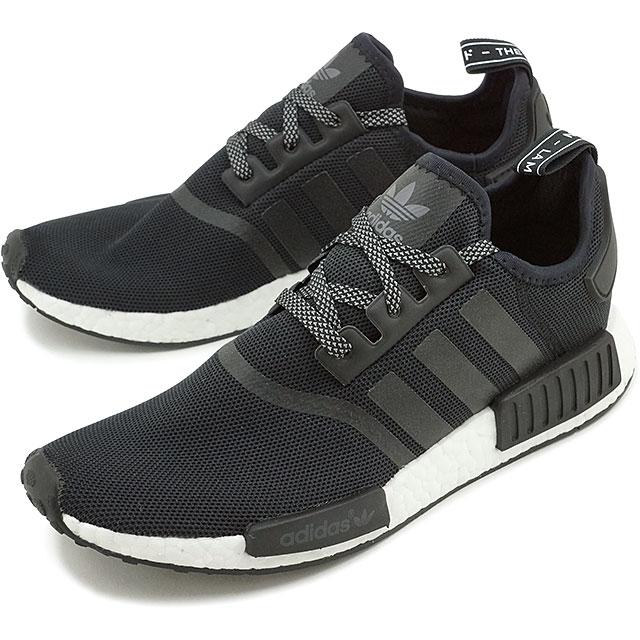 timeless design c4888 a596c Adidas originals nomad R1 adidas Originals NMD R1 NMD_R1 core black shoes  (S31505 FW16)