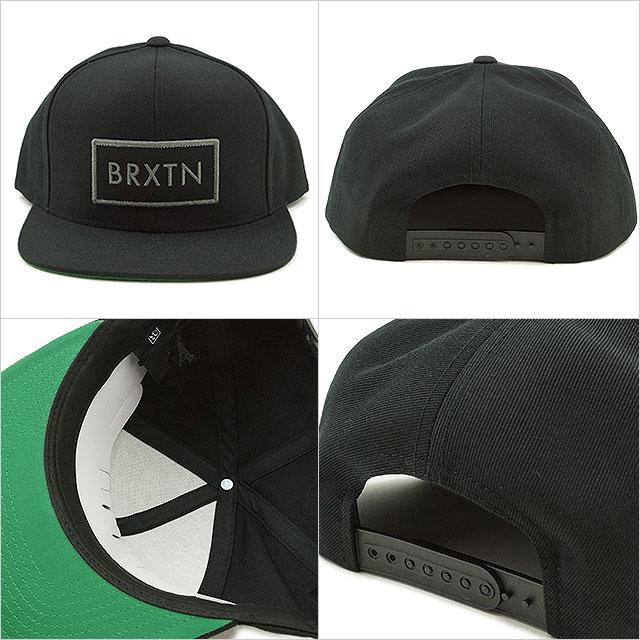 布里克斯顿电梯业绩回升帽男装女装布里克斯顿的帽子裂谷业绩回升 (FW16)
