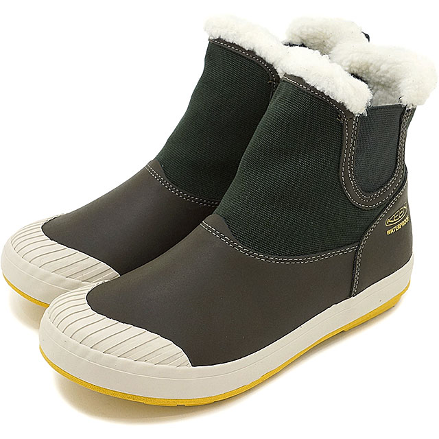 620cba8b3c5 Kean Elsa Chelsea waterproof side Gore boots KEEN WOMEN Elsa Chelsea WP  Beluga shoes (1015093 FW16)