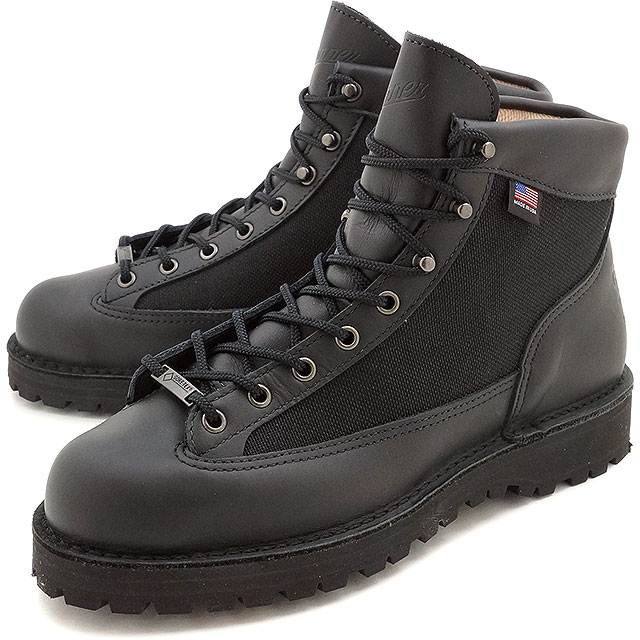 【即納】【復刻限定モデル】ダナー ダナーライト Danner メンズ ブーツ DANNER LIGHT BLACK 靴 (30465 FW16)【コンビニ受取対応商品】