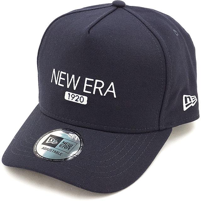New era 1920 wool Cap NEWERA hats 9 FORTY D-Frame CAP Navy   snow white  (11322551 FW16) 77e13b2c339