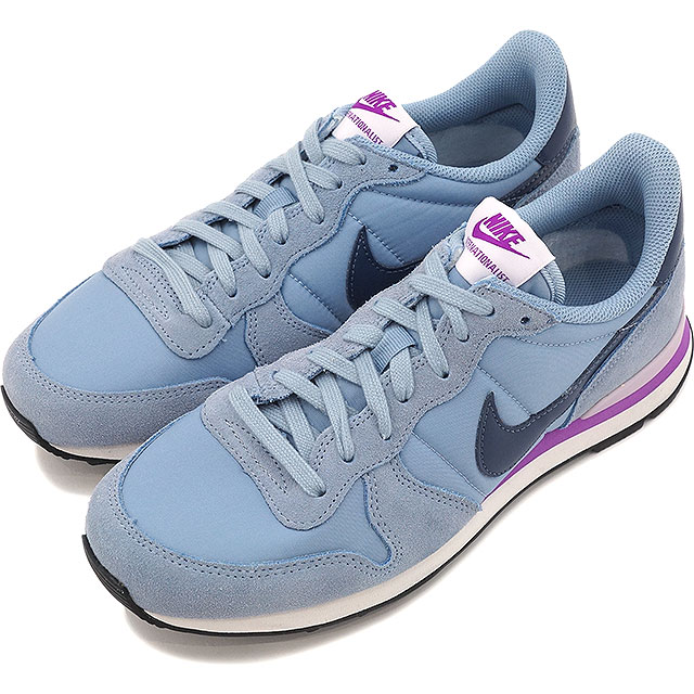 promo code 3f267 7aae4 ... INTERNATIONALIST Nike Womens internationalist gray Squadron blue   Summit  white   hyperviolent   light violet   black   (828407-405 HO16). Contact  Shop