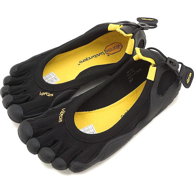 【1/17 14時まで!ポイント10倍】Vibram FiveFingers ビブラムファイブフィンガーズ レディース WMN CLASSIC Black/Black ビブラム ファイブフィンガーズ 5本指シューズ ベアフット 靴 [W108]