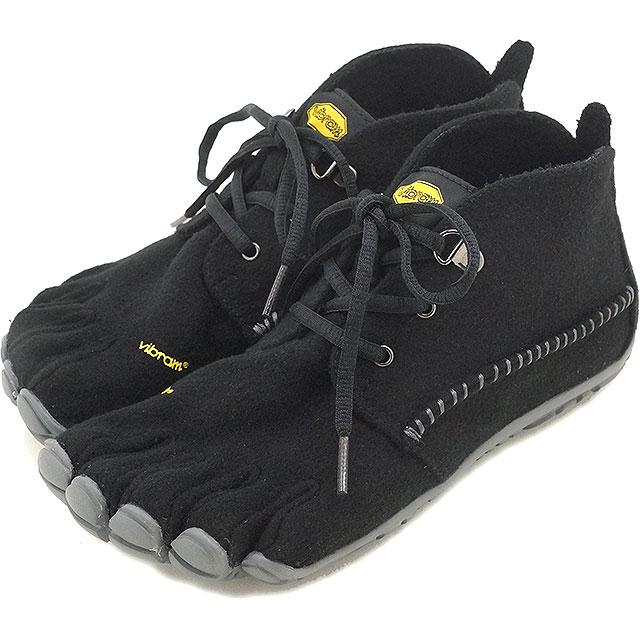 Vibram FiveFingers ビブラムファイブフィンガーズ レディース WMN CVT-WOOL Black/Grey ビブラム ファイブフィンガーズ 5本指シューズ ベアフット 靴 (15W5803)【コンビニ受取対応商品】