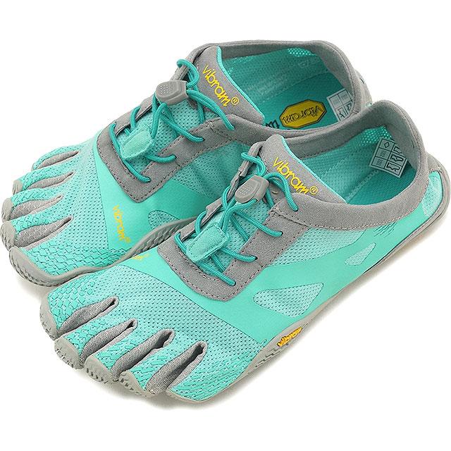 Vibram FiveFingers ビブラムファイブフィンガーズ レディース WMN KSO EVO Mint/Grey ビブラム ファイブフィンガーズ 5本指シューズ ベアフット 靴 (16W0702)【コンビニ受取対応商品】