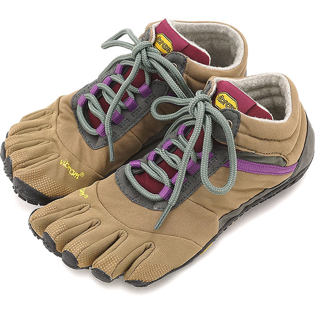 Vibram FiveFingers ビブラムファイブフィンガーズ TREK レディース WMN 5本指シューズ INSULATED TREK ASCENT INSULATED Khaki/Grape ビブラム ファイブフィンガーズ 5本指シューズ ベアフット 靴 [15W5304], 久々野町:dbacdee3 --- sunward.msk.ru