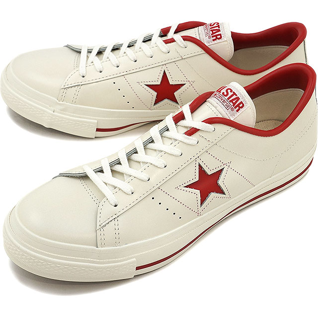 One star CONVERSE Converse sneakers ONE STAR J J white / red ( 32346512 FW12 ) fs3gm