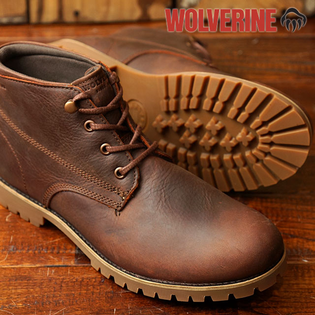 c936b4b1fa1 Wolverine coat WOLVERINE Wolverine mens chukka boots CORT Brown Leather  (W40241 FW16)