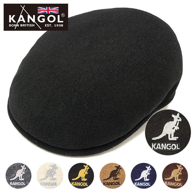 【10%OFFクーポン対象品】カンゴール ハンチング ウール504 KANGOL メンズ・レディース帽子 Wool 504 [197169001 FW19]