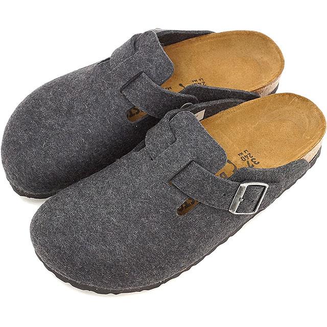 ビルケンシュトック ボストン BIRKENSTOCK メンズ レディース サンダル 靴 BOSTON フェルト アンスラサイト (GC160373/GC160371 FW16)【コンビニ受取対応商品】