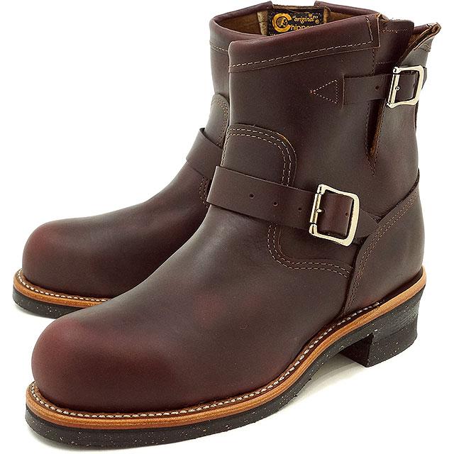 チペワ 7インチ オリジナル スチールトゥ エンジニアブーツ CHIPPEWA メンズ 革靴 7-inch original steel toe enginner boots Eワイズ コードバン (CP1901M11)【コンビニ受取対応商品】