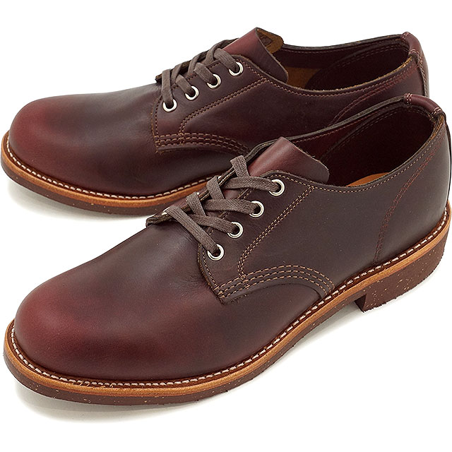 チペワ 4インチ サービス オックスフォード シューズ CHIPPEWA メンズ 革靴 4-inch service oxfords shoes Dワイズ コードバン (CP1901M74)【コンビニ受取対応商品】