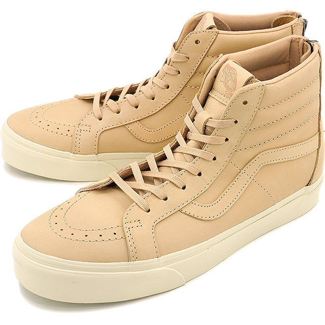f235040d85 Vans skating high Lee Shu zip DX VANS SK8-HI REISSUE ZIP DX (VEGGIE TAN  LEATHER) TAN (VN0A349ALUI HO16)
