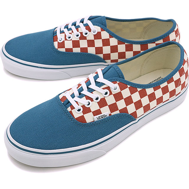 9bf2420bd21 Vans authentic VANS AUTHENTIC (50TH) CHECKERBOARD BLUE ASHES (VN0A348ALVK  HO16)