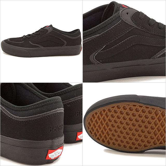 60bb2ebd24 Vans Raleigh professional VANS ROWLEY PRO (50TH)   00 BLACK BLACK  (VN000SDQJ6D HO16)