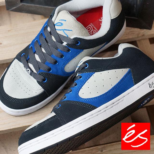 4af3a17e8207 S accelerator original es skating shoes sneakers shoes ACCEL OG navy   blue    gray (HO16)