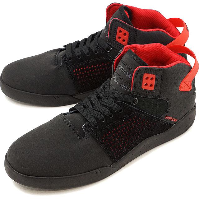 Surpra sky top 3 SUPRA skating shoes sneakers shoes SKYTOP III black   red  - black (08238-052 FW16) 36c0119bb