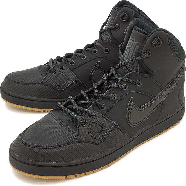 a4765f1f6bd4 NIKE Nike sneakers shoes SON OF FORCE MID WINTER Nike sun of force mid  winter black   black   アンスラサイト   gum light brown (807