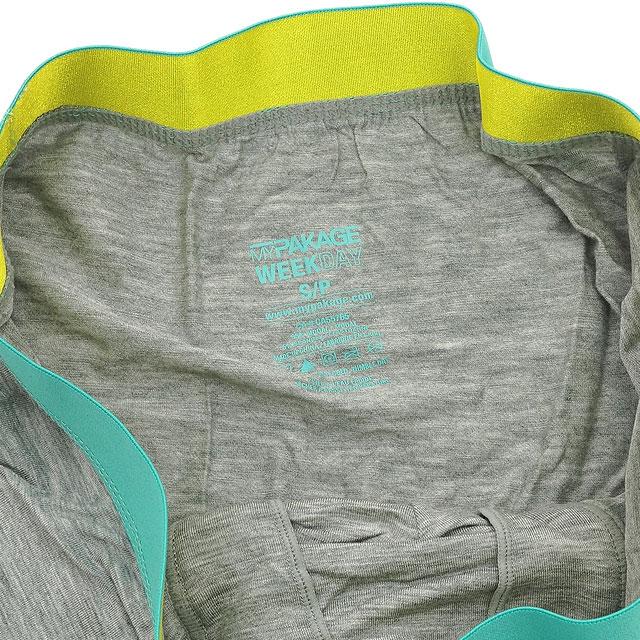 MYPAKAGE 我的包裹短裤男式内衣内裤平日树干期间业务周树干 (MP15WT01)