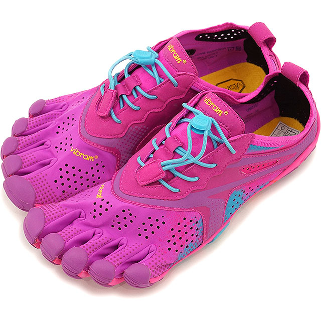 Vibram FiveFingers ビブラムファイブフィンガーズ レディース V-Run Purple/Blue ビブラム ファイブフィンガーズ 5本指シューズ ベアフット ウィメンズ 靴 [16W3107]