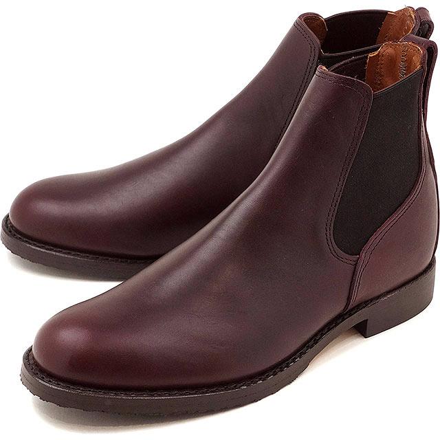 【返品サイズ交換可】レッドウィング ミルワン コングレス ブーツ REDWING Mil-1 Congress Boots Black Cherry Featherstone 靴 [9077]