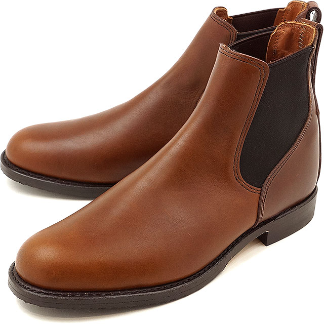 【返品サイズ交換可】レッドウィング ミルワン コングレス ブーツ REDWING Mil-1 Congress Boots Teak Featherstone 靴 (9078)【コンビニ受取対応商品】