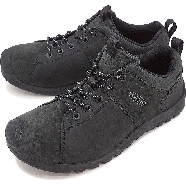 Keen men's citizen law waterproof sneakers KEEN Citizen Low WP MagnetBlack (1015133 FW16)