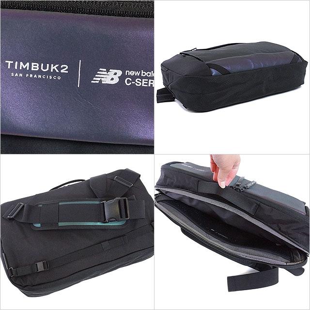 蒂尔堡 2 新 C 系列吊索 TIMBUK2 × Newbalance C 系列吊索信使袋挎包黑色 (287031000 FW16)