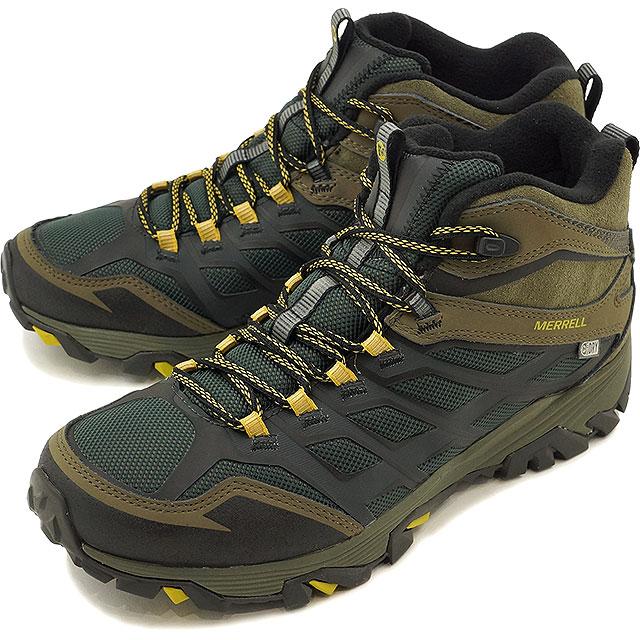 2965f514c1 メレルモアブ FST thermostat ice waterproof winter boots sneakers men MERRELL MNS  MOAB FST THERMO ICE + WATERPROOF PINE GLOVE/DUSTY OLIVE (J35789 ...