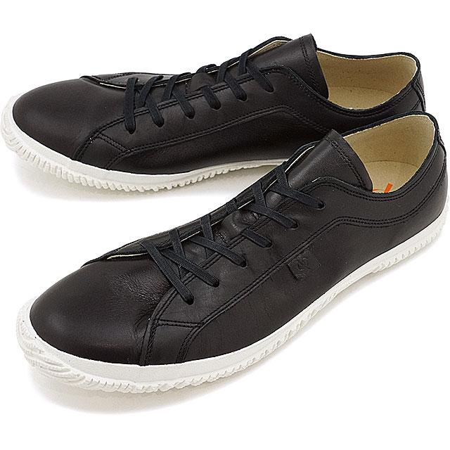 【返品送料無料】スピングルムーブ SPINGLE MOVE スピングル ムーヴ レザースニーカー 靴 ブラック SPM-105 [SPM105-05 SS17]