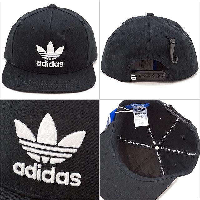 Adidas originals AC トレフォイルフラットキャップ adidas Originals AC TREFOIL FLAT CAP ( BK7324 SS17) 82bb4fba6fa