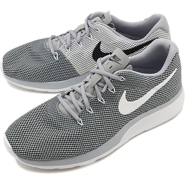 c8e627e258 NIKE Nike sneakers shoes men TANJUN RACER tongue Jun racer wolf gray /  white / black ...