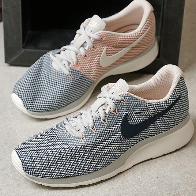 ec4965957f3952 NIKE Nike sneakers shoes Lady s WMNS TANJUN RACER women tongue Jun racer P  platinum  A navy  A blue  S ティント   sail (921